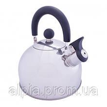 Туристический чайник Vango Stainless Steel With Whistle 2.0L Silver