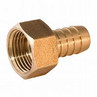 Штуцер латунный для шланга 1/2''В 10 мм
