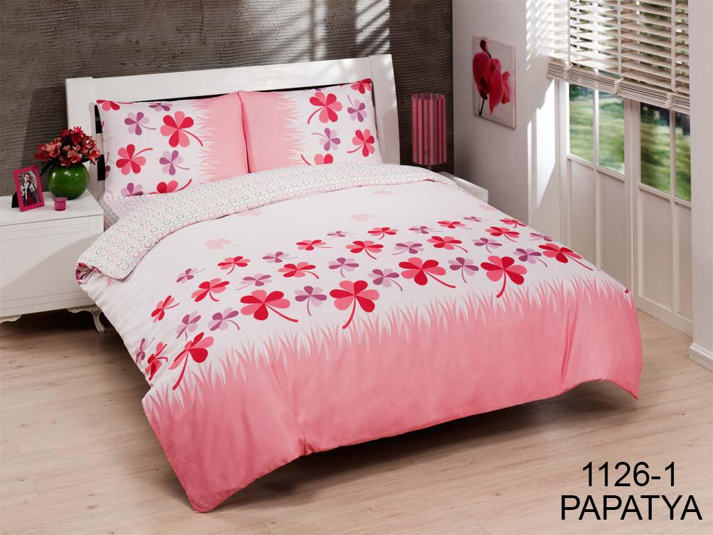 Постельное белье Le Vele Dophia Papatya Pink Полуторный