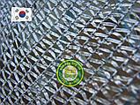 Сетка затеняющая, Серебристая 4м ширина, нужная Вам длинна 65%, фото 2