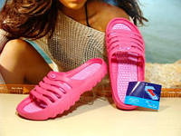Женские шлепанцы Super Cool розовые 38 р., фото 1