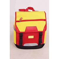 Рюкзак Красно-Желтый / Школьный ранец / Рюкзак для школьника / Рюкзак школьный / Рюкзак детский дошкольный, фото 1