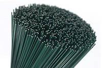 Проволока для флористики зеленая 0,9 мм 50 штук