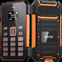 Телефон как кредитка! Ультратонкий телефон SOYES S1! Противоударный и водонепроницаемый телефон.