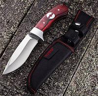 Нож нескладной Антей, в комплекте с тканевым чехлом