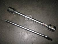Ключ c термообработкой балонный для грузовиков  d=22, 32х33х395мм, с воротком  (арт. ARM2819-3233), ACHZX