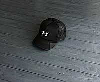 Спортивная кепка Under Armour, Андер Армор, тракер, летняя кепка, унисекс, черного цвета, копия