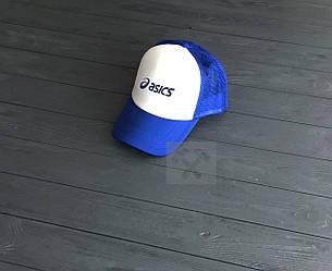 Кепка Тракер Asics синего и белого цвета