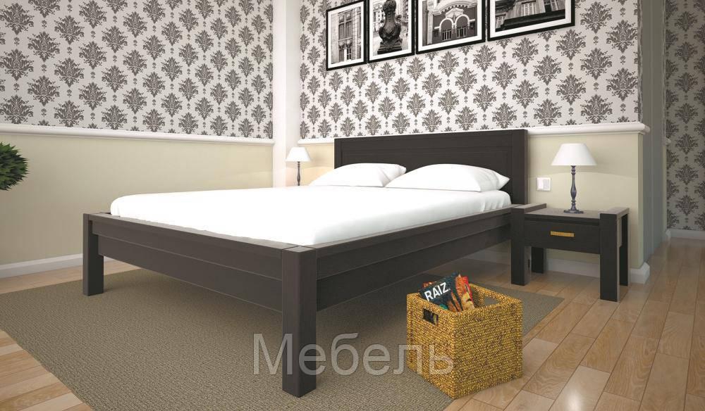Кровать ТИС МОДЕРН 9 160*190 дуб