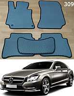 Коврики на Mercedes CLS-Class C218 '10-18. Автоковрики EVA