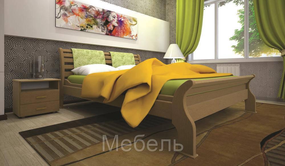Кровать ТИС РЕТРО 2 120*190 бук