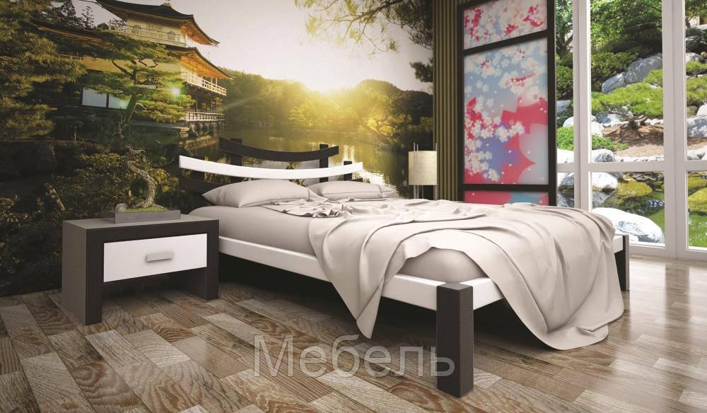 Кровать ТИС САКУРА 2 140*200 дуб