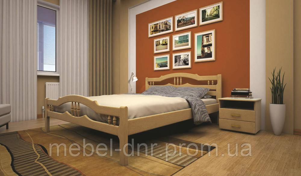 Кровать ТИС ЮЛІЯ 1 90*200 бук