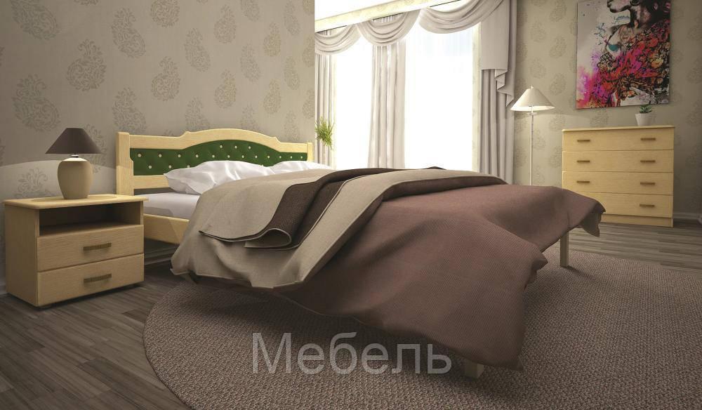 Кровать ТИС ЮЛІЯ 2 180*200 сосна