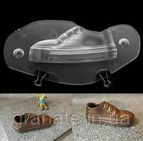 """Поликарбонатная форма для шоколада """"Ботинок"""" 145х40х80 мм"""