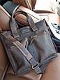 Мужская кожаная сумка для документов Vatto, фото 6