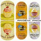 Наклейки для Нігтів Нігтики PhotonailArt Водні Різнокольорові, Мала Пластина, Angevi SL 12, фото 3