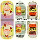 Наклейки для Нігтів Нігтики PhotonailArt Водні Різнокольорові, Мала Пластина, Angevi SL 14, фото 3