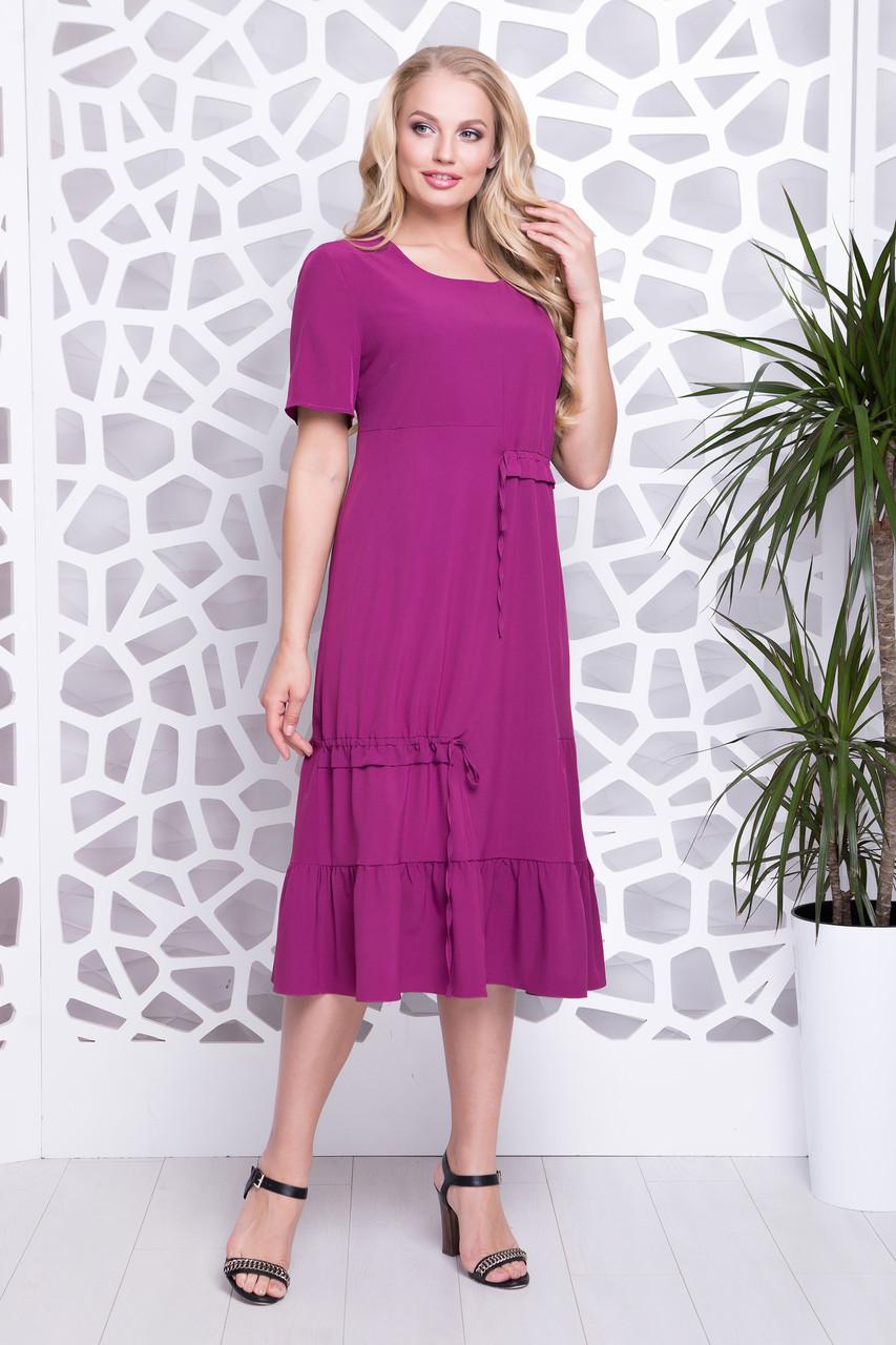 Платье Прада фиолетовый р 52-60 52  продажа, цена в Харькове. платья ... 3ac30f734a8