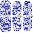 Наклейки для Ногтей Ноготки PhotonailArt Водные Разноцветные, Малая Пластина, Angevi SL 19, фото 3