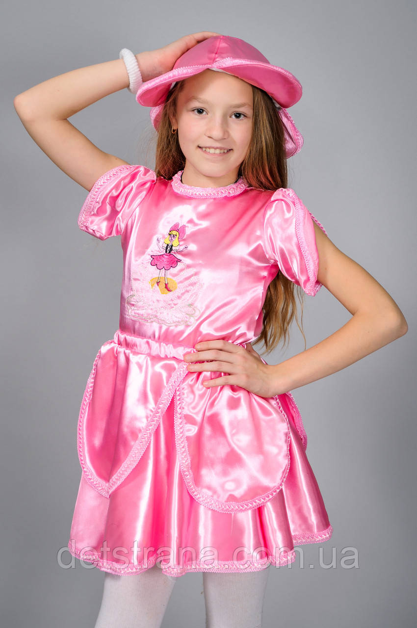 Детский карнавальный костюм (сказочный герой) Дюймовочка