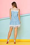 Легкое Летнее Платье с кокетками и рюшей из фатина  44-50р, фото 2