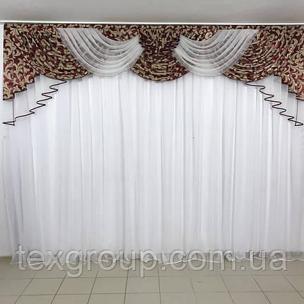 Шикарный ламбрекен в зал, спальню, гостиную №318, фото 2