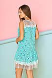 Яркое Летнее Платье с кокетками и рюшей из фатина  44-50р, фото 2