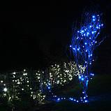Гірлянда НИТКА 10м, колір синій, фото 2