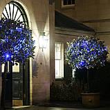 Гірлянда НИТКА 10м, колір синій, фото 5