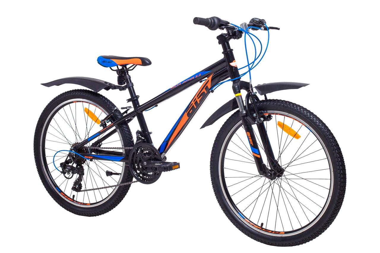 """Велосипед Aist Rocky Junior 2.0 24"""" черный"""