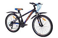 """Велосипед Aist Rocky Junior 2.0 24"""" черный, фото 1"""