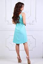 "Асимметричное летнее платье-сарафан ""SONATA"" на бретельках (5 цветов), фото 2"