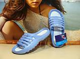 Сланцы женские Super Cool голубые 39 р., фото 3