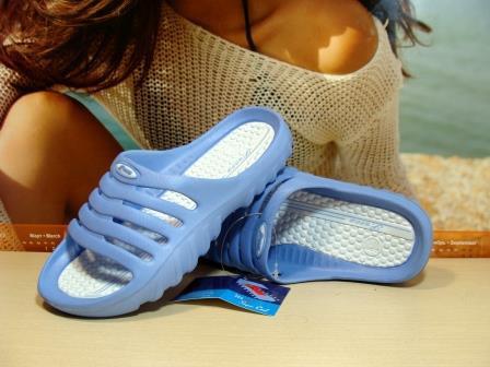 Сланцы женские Super Cool голубые 39 р.