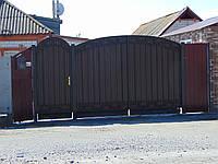 Ворота з профнастила В-16