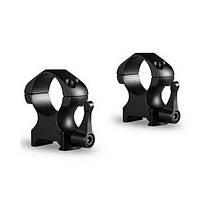 Стальные быстросъемные кольца Hawke Precision Fast Release 30mm/Weaver/Medium
