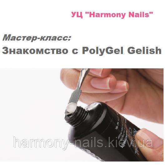 «Знакомство с PolyGel Gelish»