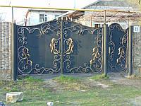 Кованые ворота В-21