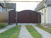 Ворота з профнастила В-22, фото 1