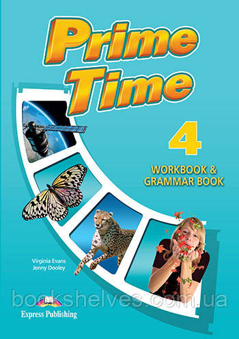 Prime Time 4 Workbook & Grammar Book