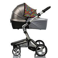 Солнцезащитный козырек с москиткой Color Must Have Shade, для колясок и автокресел, ДоРечі