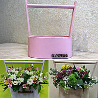 Ящик для цветов и декора, Овал Flowers