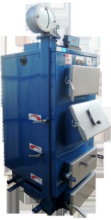 Твердотопливный котёл длительного горения WICHLACZ модель GK-1 мощностью 10 кВт  отапливаемая площадь 80 м2