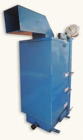 Твердотопливный котёл длительного горения WICHLACZ модель GK-1 мощностью 10 кВт  отапливаемая площадь 80 м2, фото 2