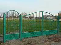 Кованые ворота В-23, фото 1
