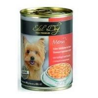 Консервы Edel Dog для собак с птицей и морковью 1,2 кг