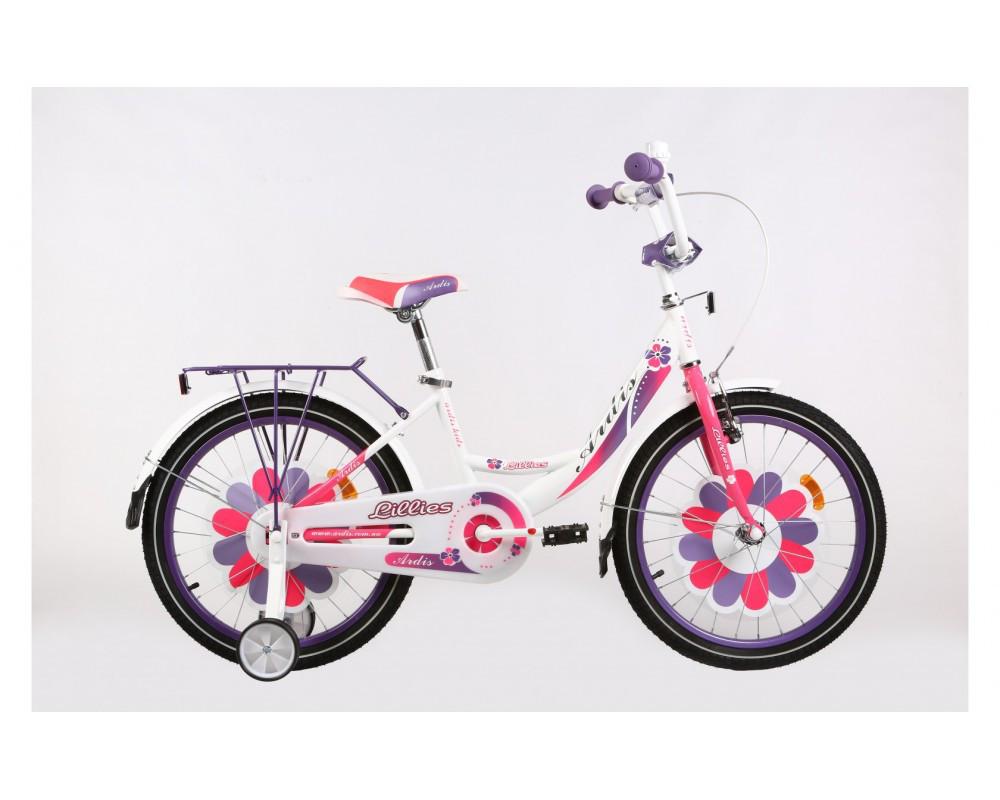 Велосипед детский ARDIS12 LILLIES BMX бело-розовый