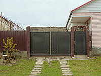 Ковані ворота В-32