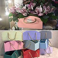 Ящик для цветов и декора, Сумочка